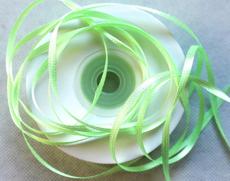 , No/ël satin mariage ruban d/écoratif Capiso /® ruban de satin 100M ruban de 3 mm ruban cadeau
