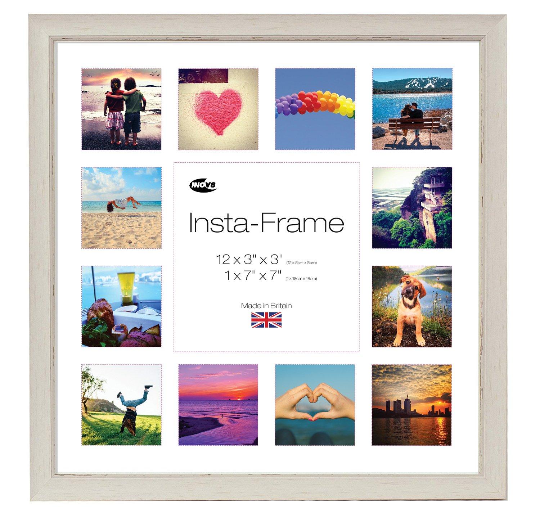 Amazon.de: Inov8 Insta-Frame Fotorahmen, mit weißem Passepartout und ...