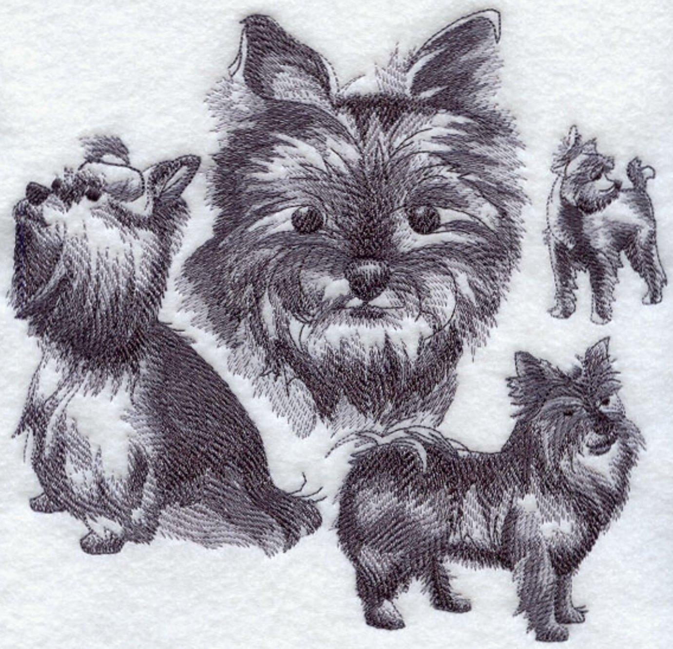 Yorkshire Terrier / Yorkie Custom Embroidered Sweatshirt Shirt