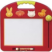 B.Toys 比乐 图卢兹磁性画板 番茄红 写字板 宝宝画画板 小孩涂鸦板玩具 18个月+ BX1294Z  婴幼儿童益智玩具 礼物