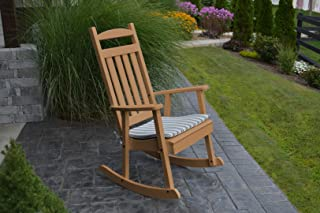 product image for Furniture Barn USA Outdoor Poly Classic Porch Rocker - Cedar