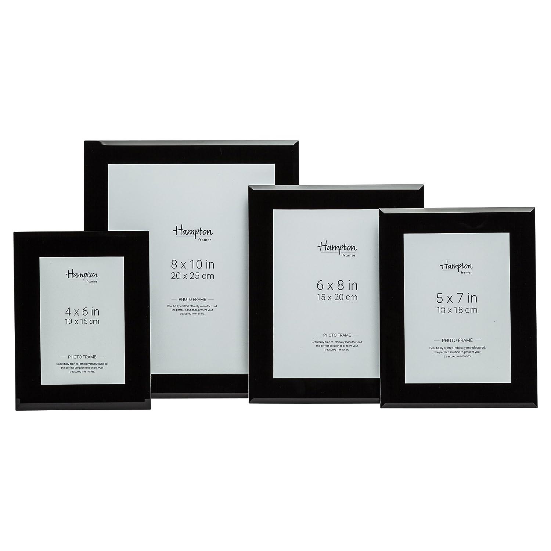 Amazon.de: sch57blk schwarz schwarz Glas Foto Bild Display Rahmen 5 ...