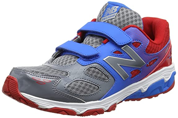 New Balance 680v3, Zapatillas Infantil, (Grey/Blue), 28.5 EU: Amazon.es: Zapatos y complementos
