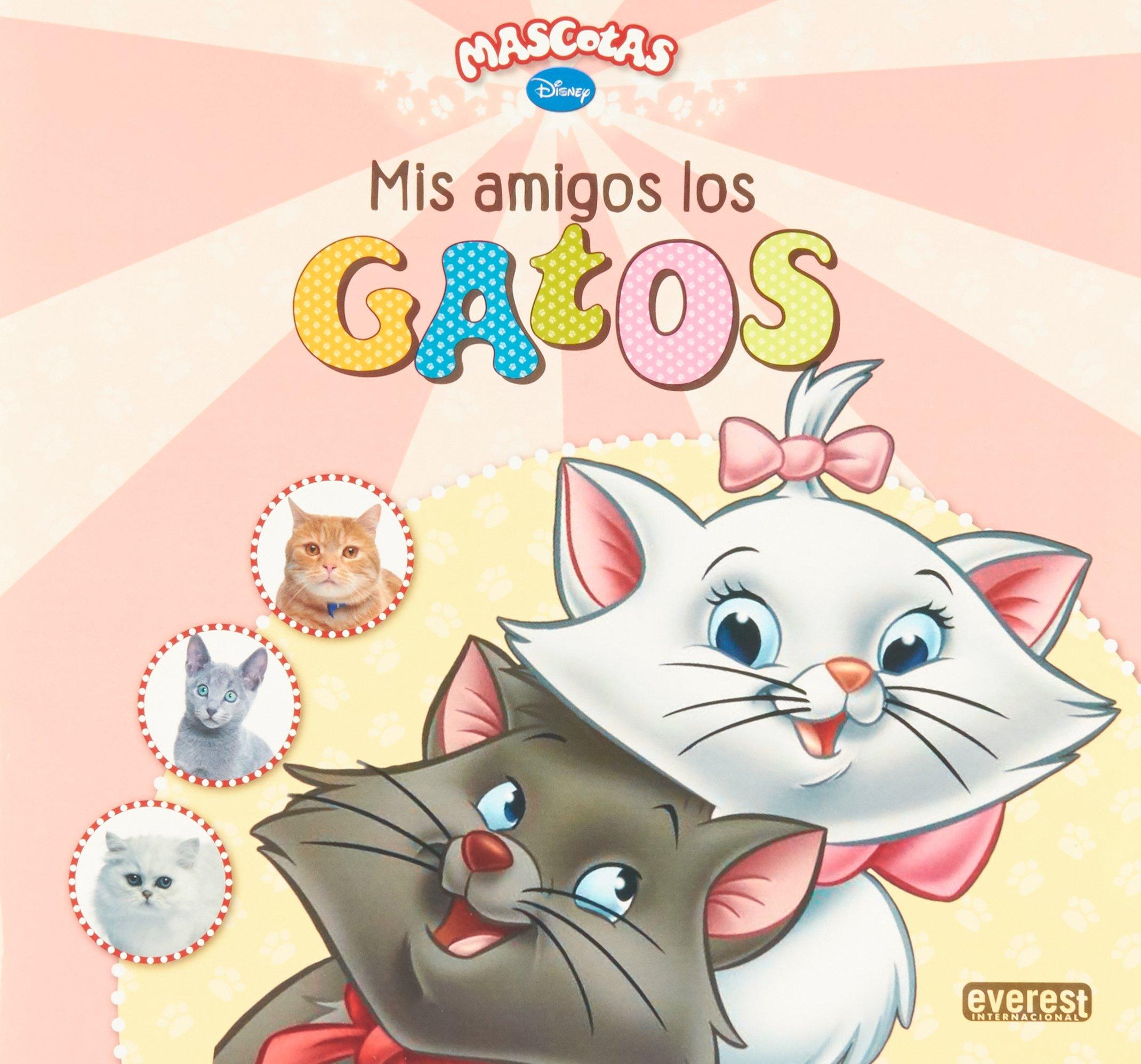 GATOS/MIS AMIGOS LOS/MASCOTAS DISNEY (Spanish) Paperback – 2013