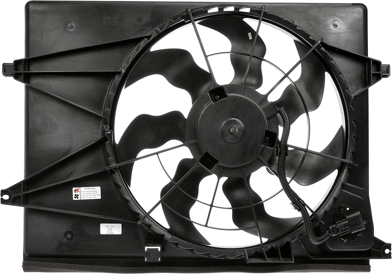 Dorman 621-559 Engine Cooling Fan Assembly for Select Kia Models