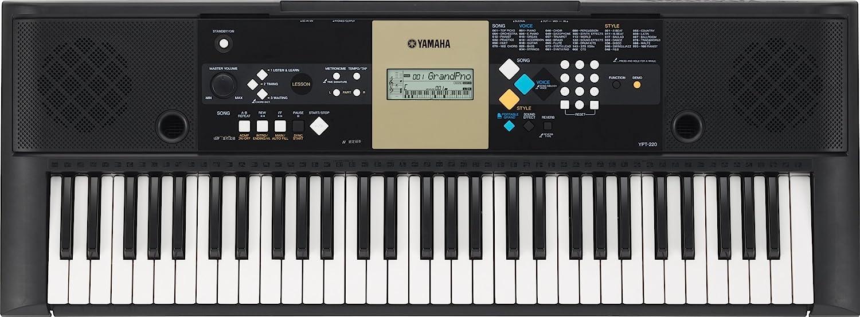 yamaha ypt220 portable keyboard amazon co uk musical instruments rh amazon co uk Desk Manual Manual Guide