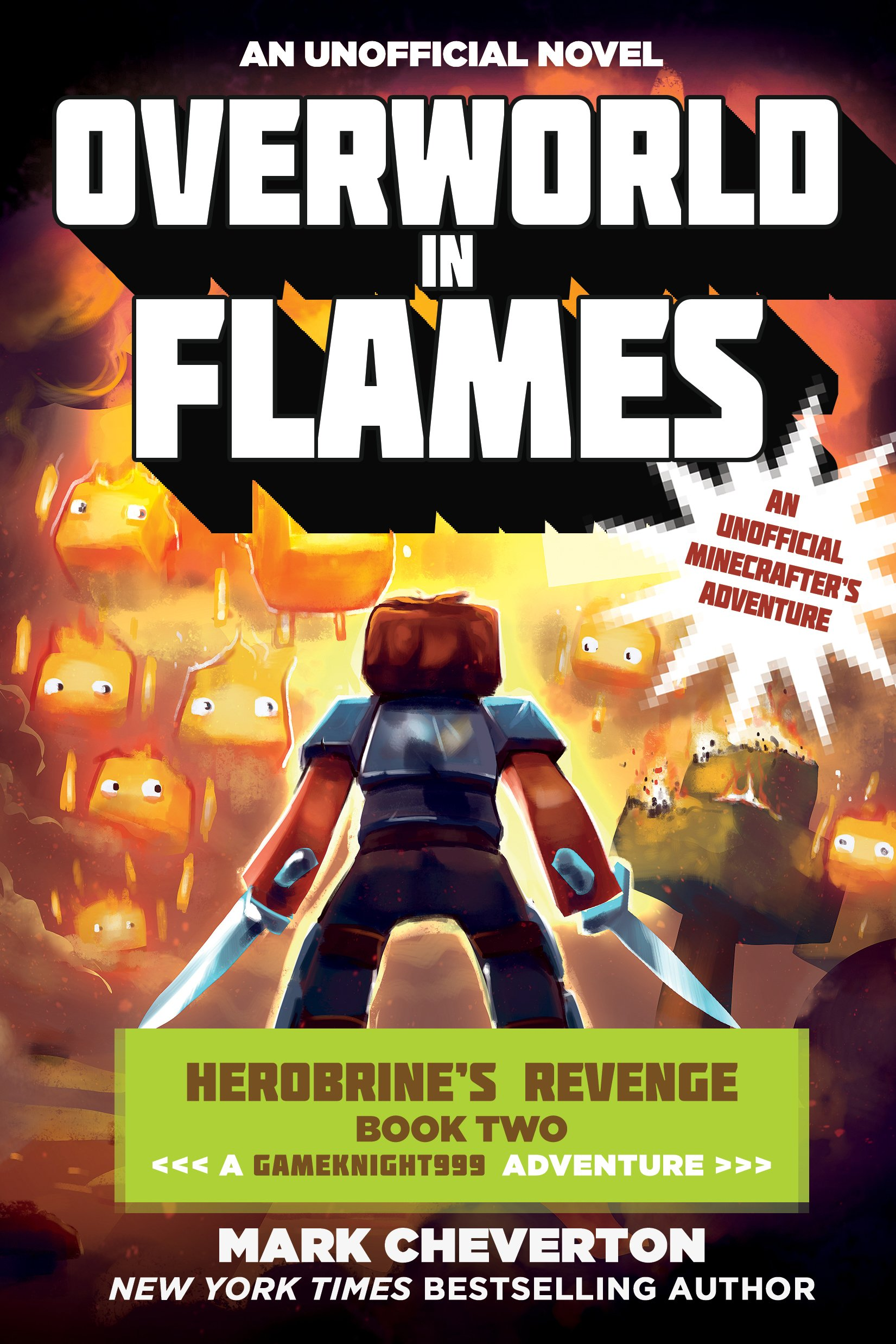 Overworld Flames Herobrine s Gameknight999 Minecrafter s product image