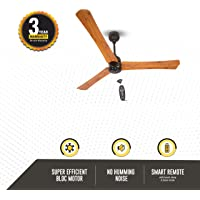 Atomberg Renesa+ 1200 mm BLDC Motor with Remote 3 Blade Ceiling Fan  (Oak Wood, Pack of 1)|Formerly Gorilla