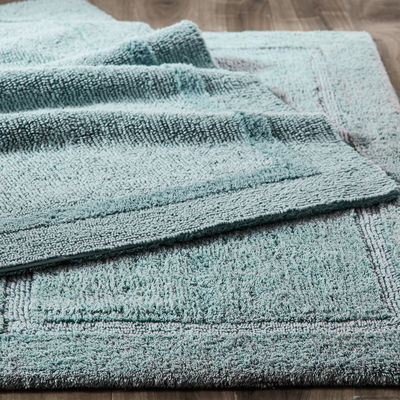 Reversible Cotton Mineral Bath Rug Collection | Pier 1 Imports