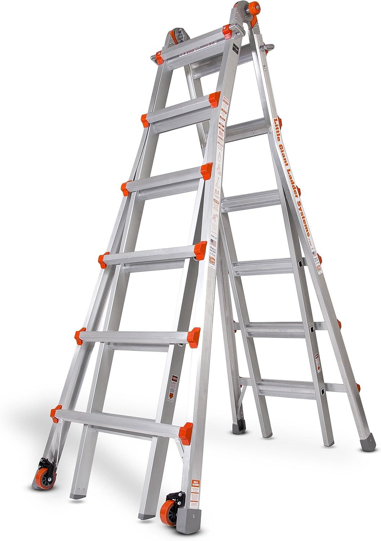 Poco gigante escalera # 10126 modelo 26 tipo 1 A 300 Lb nominal con libre pierna nivelador: Amazon.es: Bricolaje y herramientas
