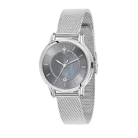 Maserati Reloj Analógico para Mujer de Cuarzo con Correa en Acero Inoxidable R8853118508: Amazon.es: Relojes