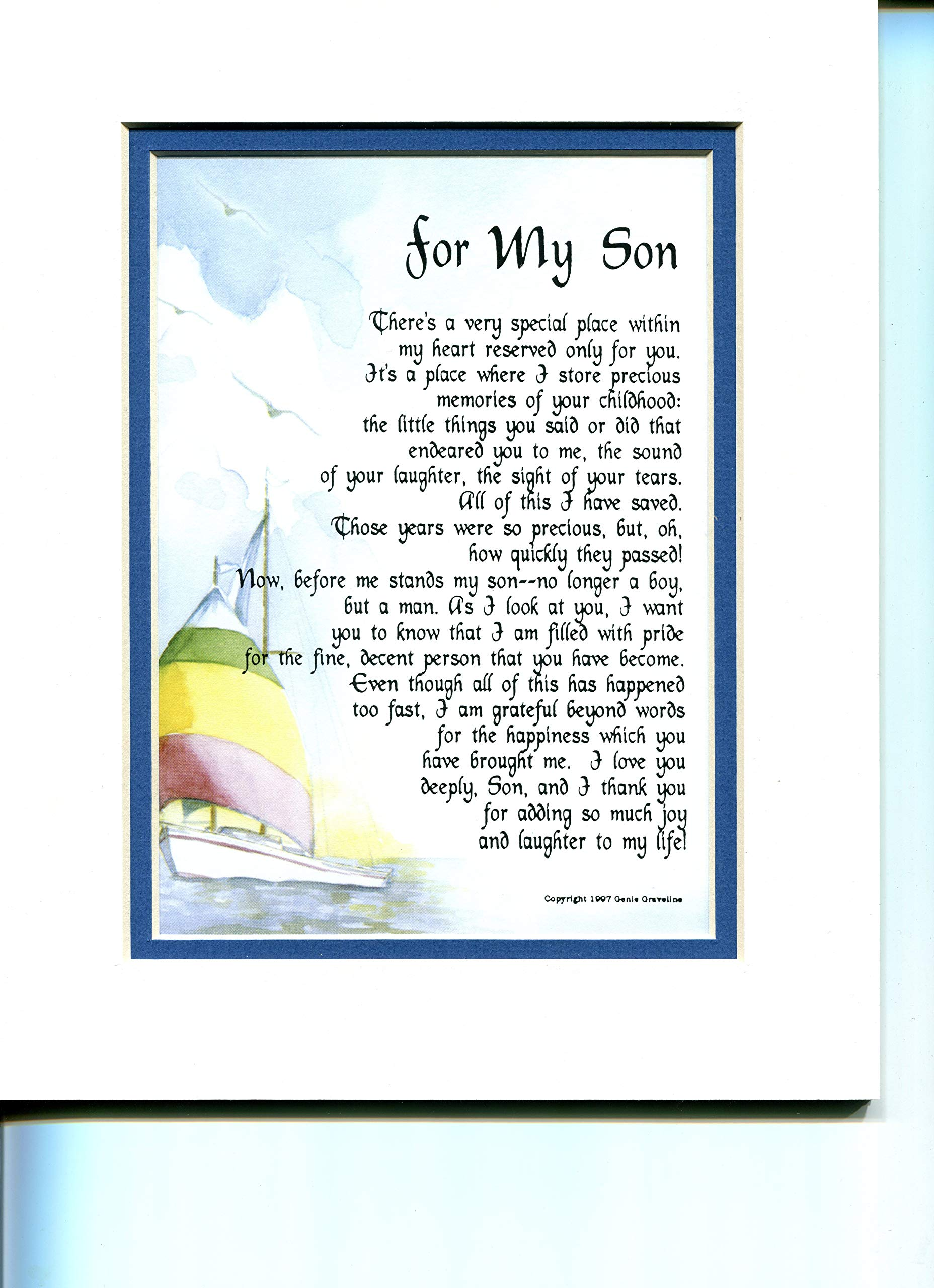 Gift Present Poem For My Son 51 Buy Online In Papua New Guinea At Desertcart Productid 11736417 Life for me ain't been no crystal stair. desertcart