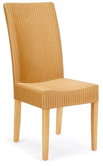 Hansen 6251E Lloyd-Loom-Stuhl 45 x 65 x 102 cm natur: Amazon.de ...