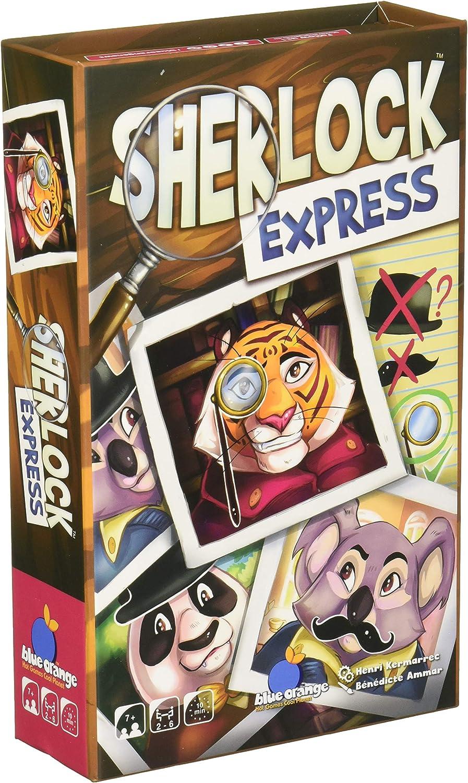 Blue Orange Sherlock Express Juego de comparación de Cartas ...