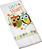 Kay Dee Designs Cotton Terry Towel, 16 by 26-Inch, Life's A Hoot