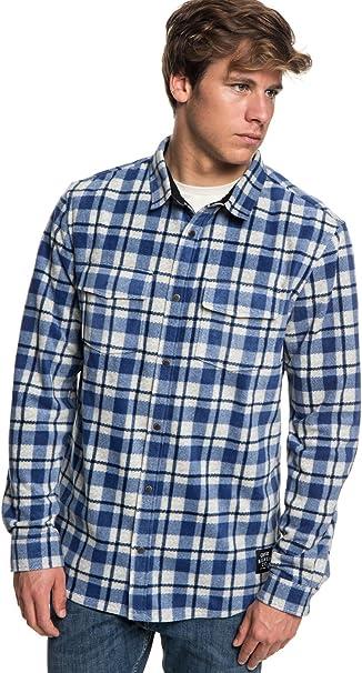 Fubotevic Mens Slim Fit Long Sleeve Stylish Lips Print Flap Pockets Lapel Shirt