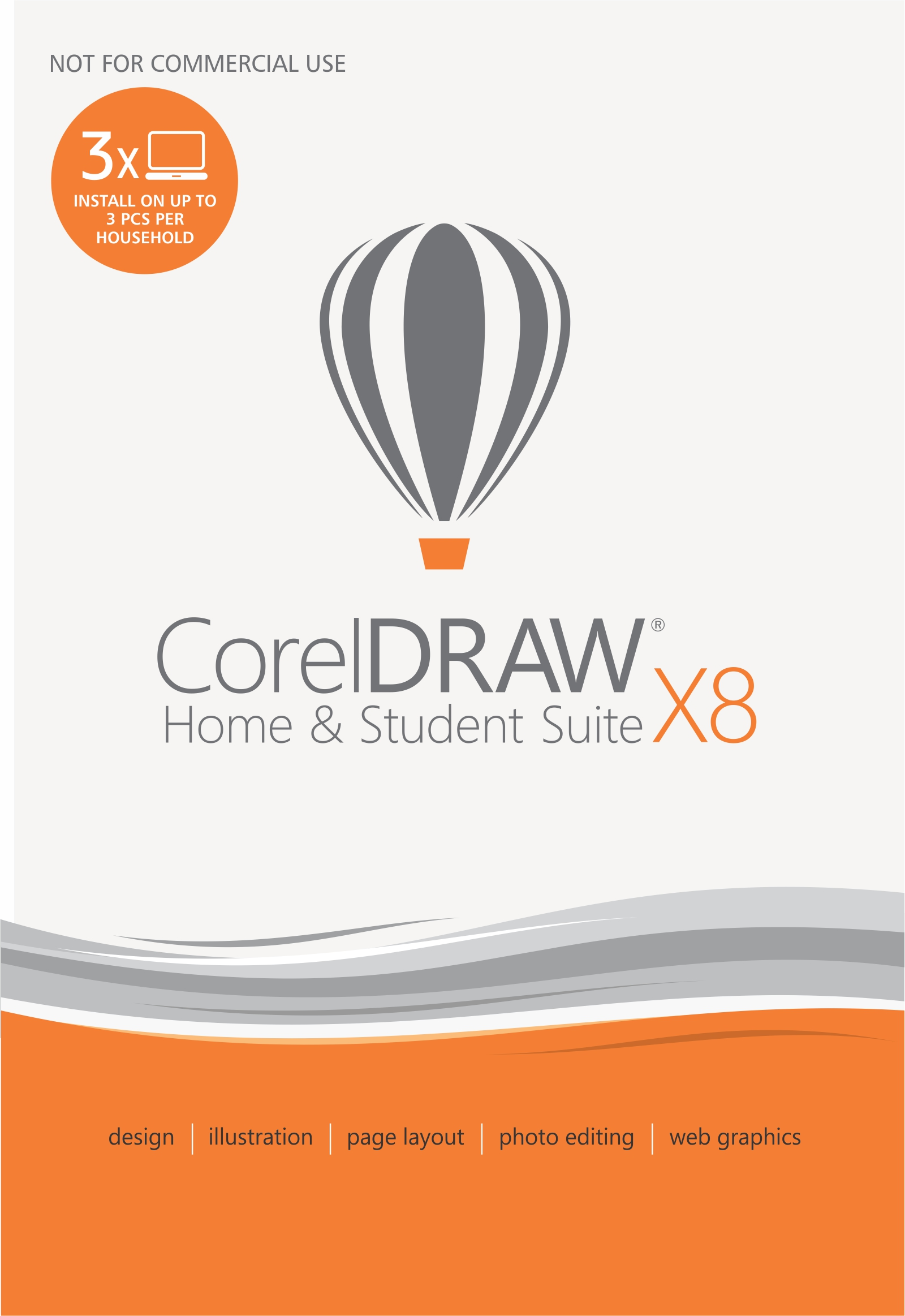 CorelDRAW Home & Student Suite X8 [Download] by Corel
