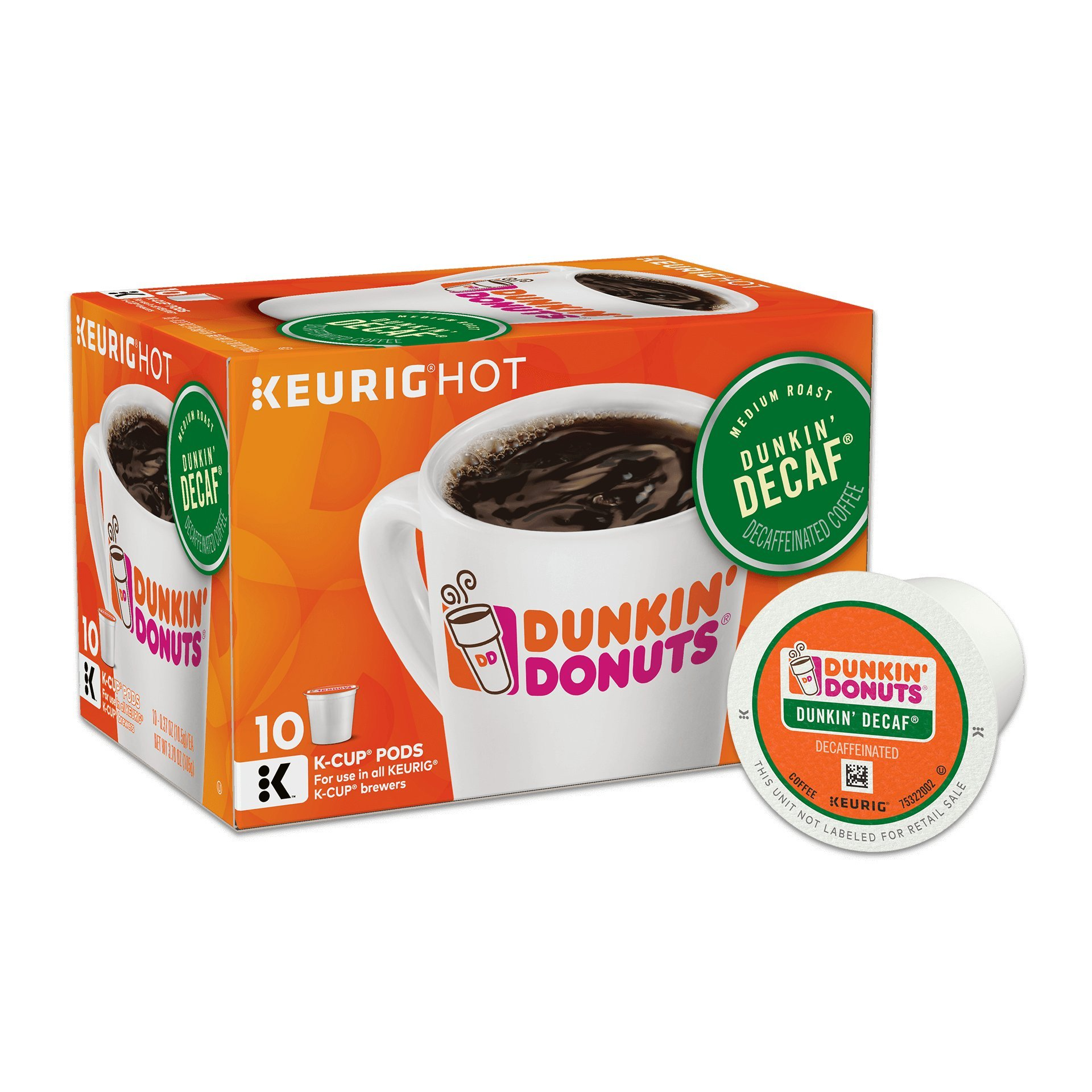 dunkinu0027 donuts original blend coffee kcup pods decaf medium roast