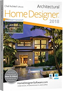 Fine Amazon Com Chief Architect Home Designer Pro 2018 Dvd Software Largest Home Design Picture Inspirations Pitcheantrous