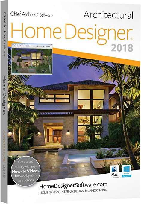Amazon.com: Chief Architect Home Designer Architectural 2018 - DVD