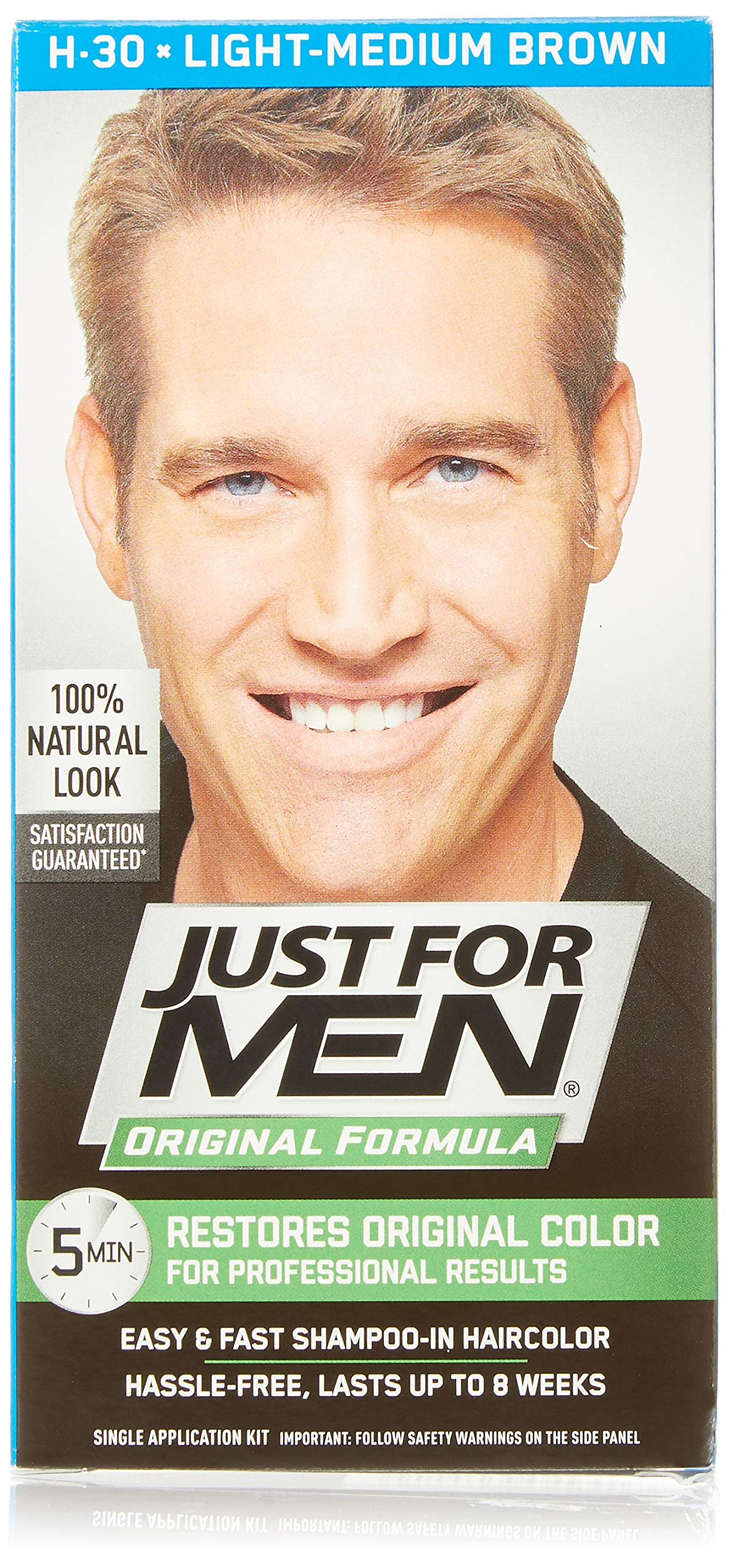 Amazon.com : Just For Men AutoStop Men's Comb-In Hair
