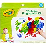 Crayola My First Finger Paint For Toddlers, Painting Paper, Kids Indoor Activities At Home, Gift