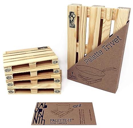 tappetino legno pentola Palette Trivet Sottopentola