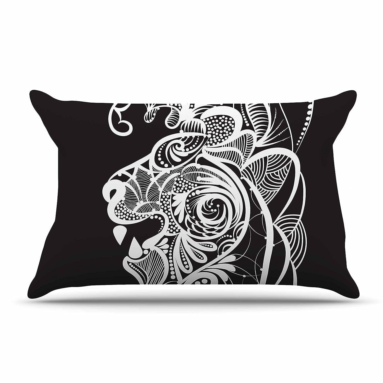 Kess InHouse Maira Bazarova Kind Lion King Featherweight Sham