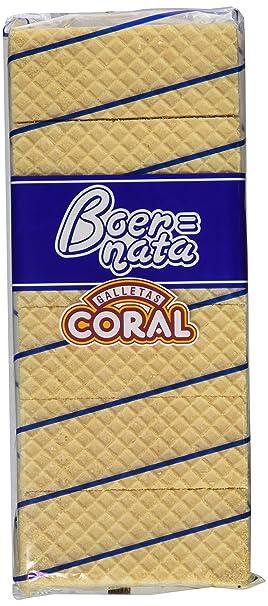 Galletas coral boer nata coral paquete 330 g - [Pack de 6]
