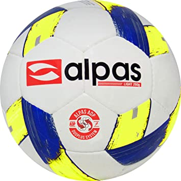 Alpas - Balones de fútbol (tamaño 4, 290 g, red para balones ...