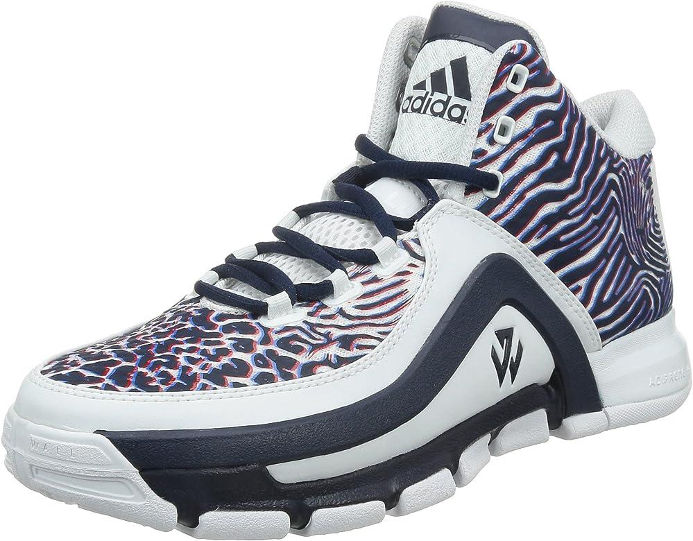 adidas J Wall 2, Zapatillas de Baloncesto para Hombre, Blanco/Rojo ...
