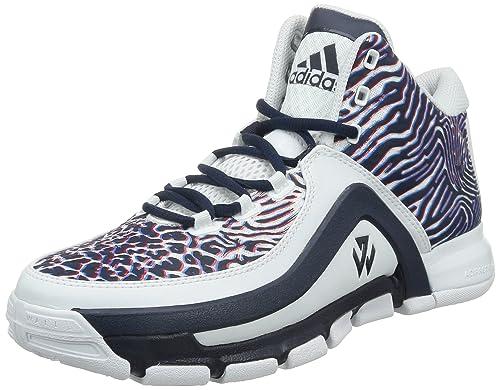 innovative design 20cb1 d57f8 adidas J Wall 2, Scarpe da Basket Uomo, Multicolore (BlancoRojo