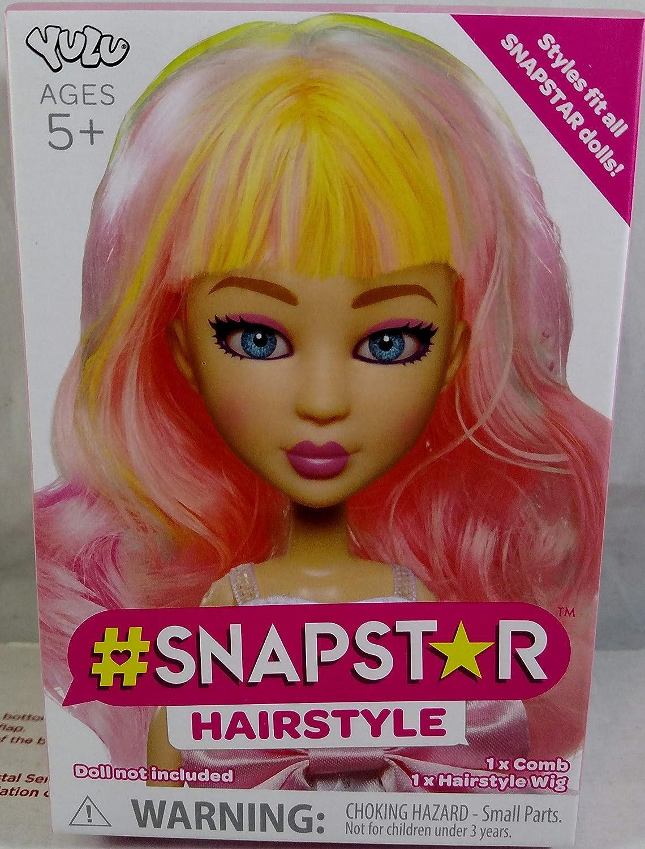 YuLu Pink Snapstar Hairstyle Wig