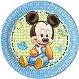 23cm bébé Mickey Mouse Assiettes, Lot de 8