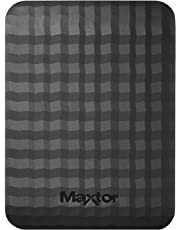 "Maxtor STSHX-M101TCBM - Disco Duro Externo de 1 TB (2.5"", HDD, USB 3.0/3.1), Color Negro"