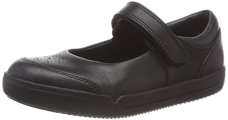 Clarks Mini Sky, Bailarinas para Niñas 27 EU|Negro (Black Leather -)