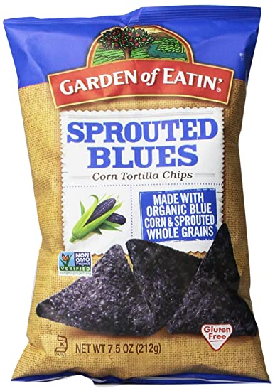 Amazoncom Garden of Eatin Sprouted Blues Corn Tortilla Chips