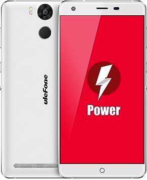 Ulefone Power - 4G Smartphone Libre Android DE 5.5(6050mAh Batería,Dual SIM-Libre,3GB RAM 16GB ROM, Octa Core,Dual cámara 5MP+13MP, 64 bit MTK6753) Desbloqueado teléfono móvil: Amazon.es: Electrónica