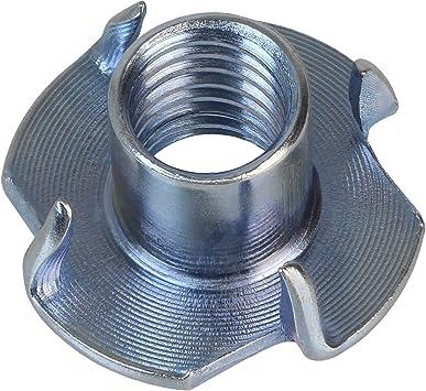 BB Sport Tuercas con 4 dientes acero galvanizado M10 x 13 x 25 mm