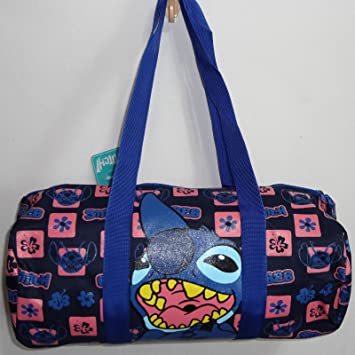 Disney Lilo and Stitch Duffle Kit Gym Sports Travel Holdall Backpack  Rucksack School Gear PE Fitness Exercise Bag Girls Womens Ladies Bags   Amazon.co.uk  ... 6ccc5caf976ae