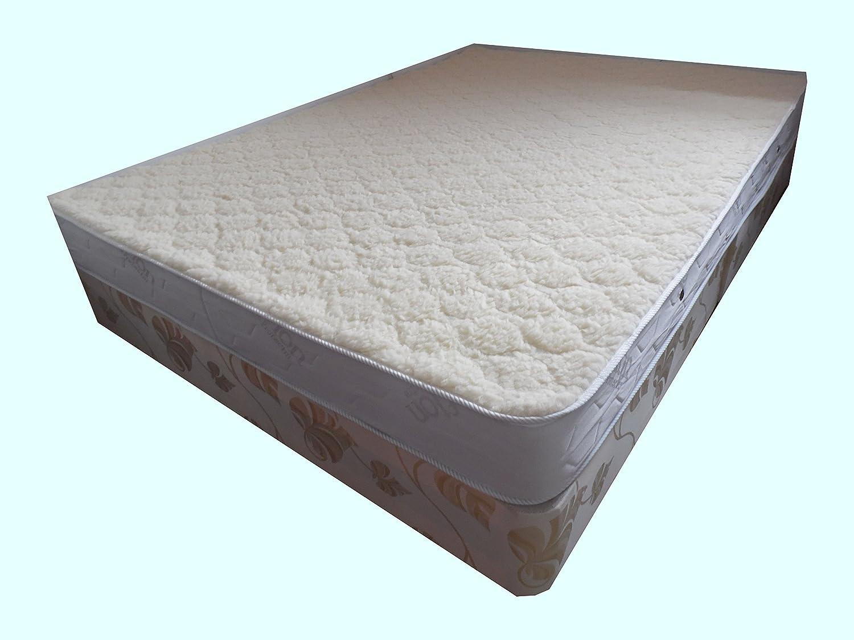 Sleepy Ortho Diamante Lujo colchón - Lana de Merino, Medium-Firm Comodidad, pequeño Individual: Amazon.es: Hogar