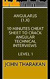 AngularJS (1.x) : 10 minutes cheat sheet to crack Angular technical interviews : Level 1