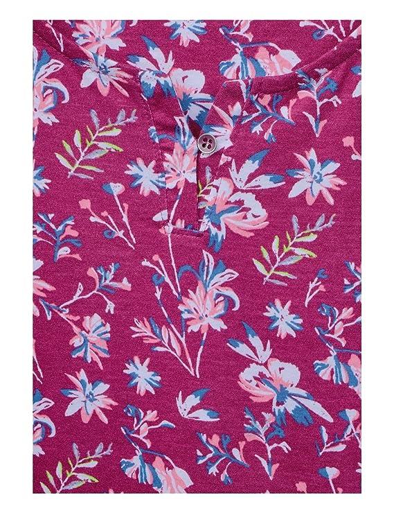 Donna Maniche Maglietta Abbigliamento Amazon it Lunghe Cecil A wI6qaUA
