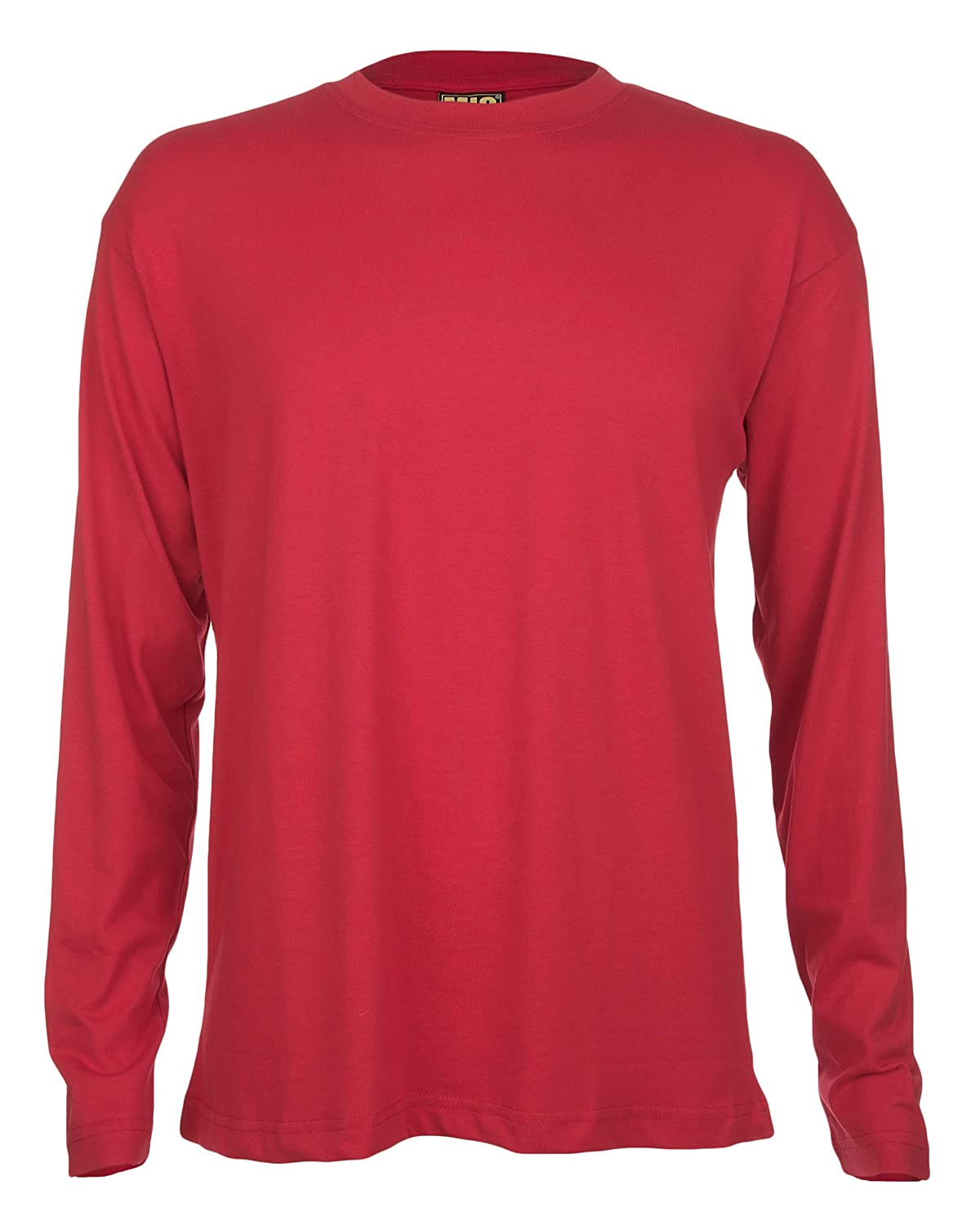 Mens Long Sleeve Premium T Shirts By MIG Sizes S to 4XL - WORK CASUAL SPORTS