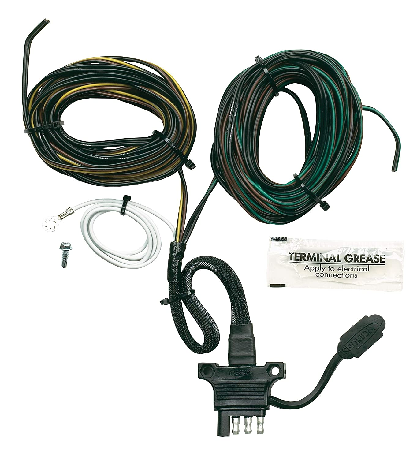 Hopkins 48240 Endurance 20 4-Flat Trailer Y-Harness Connector Hopkins Towing Solution