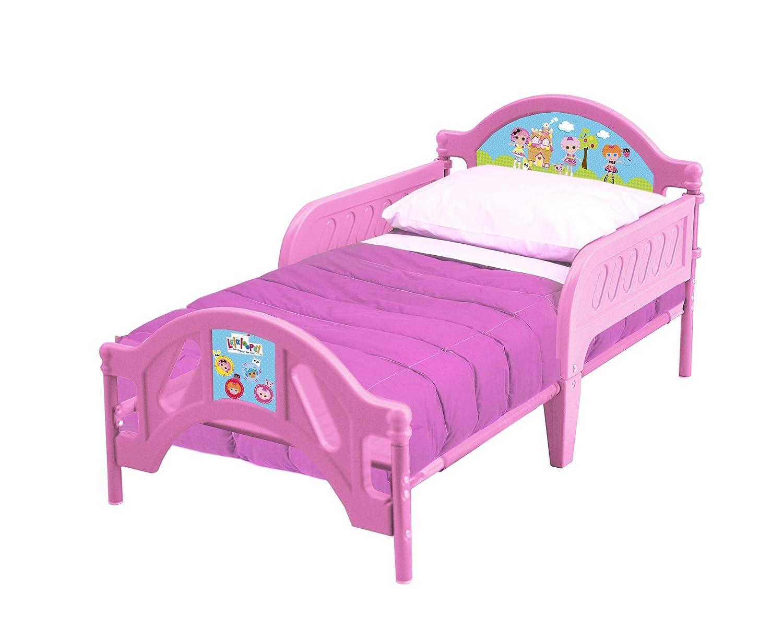 Lalaloopsy Bedroom Furniture Amazoncom Lalaloopsy Plastic Toddler Bed Toys Games