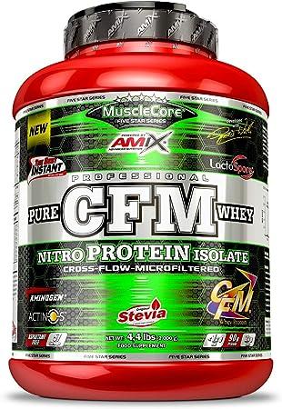Amix MuscleCore CFM Nitro Protein Isolate 2 kg - Sabor - Fresa-Yogurt