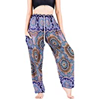 Lofbaz Yoga Boho Pantalones para Mujer Harem Pijamas Lounge Ropa de Maternidad