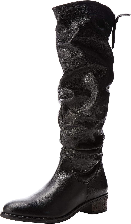 Dune Tabatha, Botas Altas para Mujer, Negro (Black-Leather Black-Leather), 36 EU: Amazon.es: Zapatos y complementos