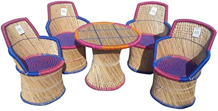 Ecowoodies Muscari Garden and Outdoor Furniture Sets (4 +1 )
